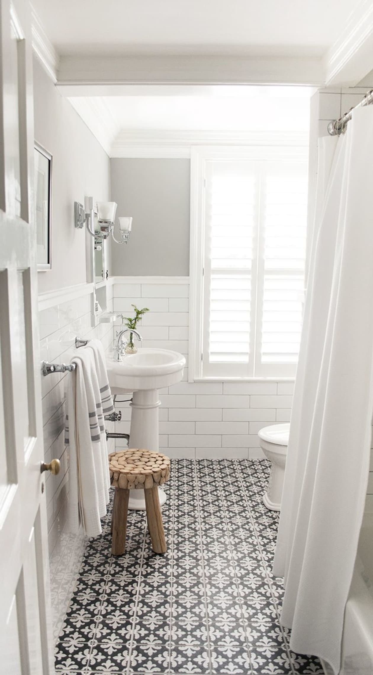 Beyond Good Looks Add Value And Style To Your Home With This One Element In 2020 Bathroom Remodel Master Bathroom Design Black Bathroom Design Small