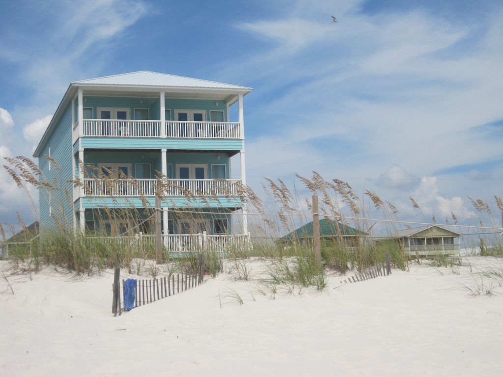 14 Bedroom Gulf Front W Private Pool And Boardwalk Endurance Ii Beach House