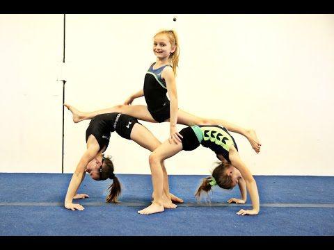 Gymnasts Try Yoga Challenge Sante