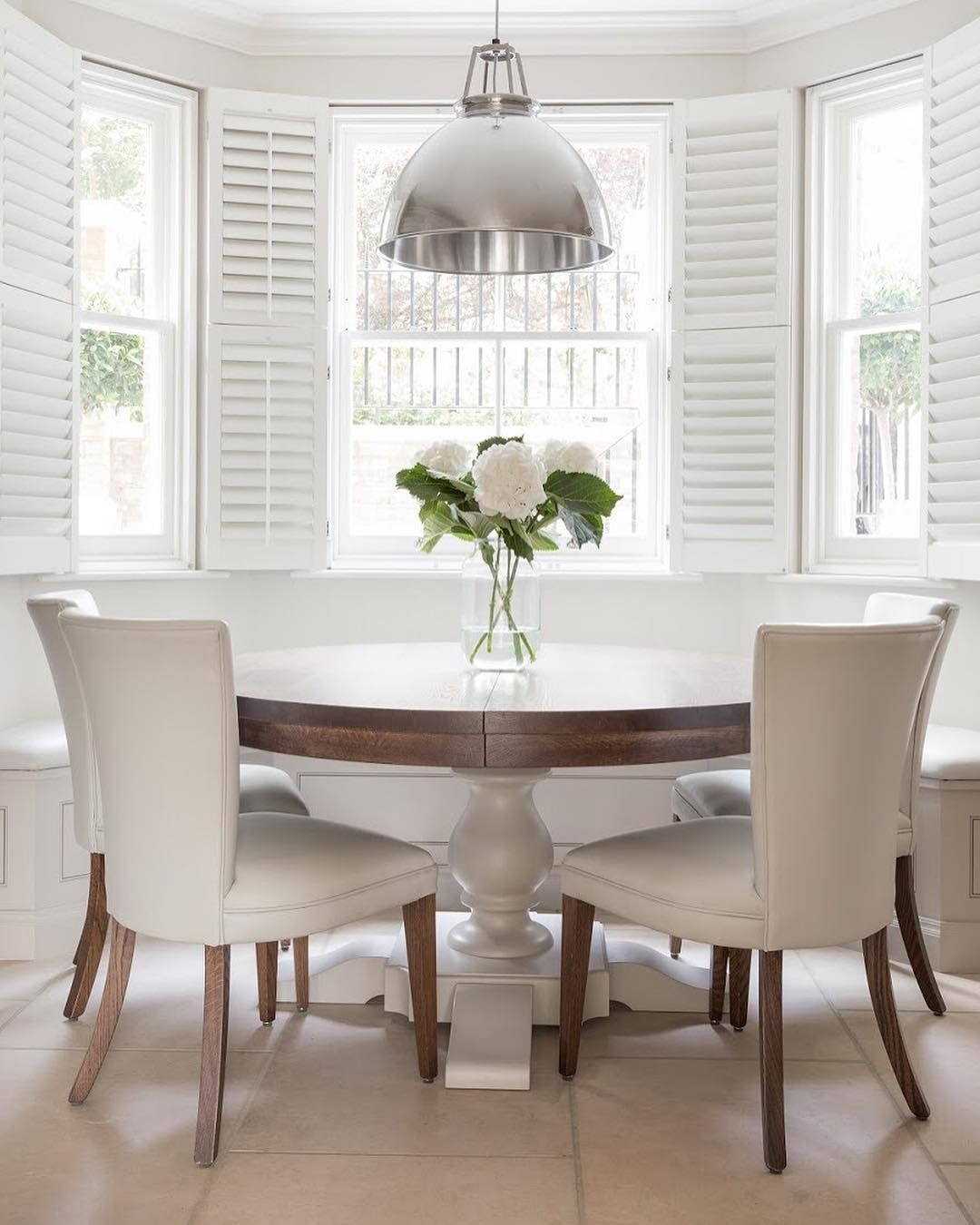 the crouch end project has a dining area set within the large bay rh pinterest com