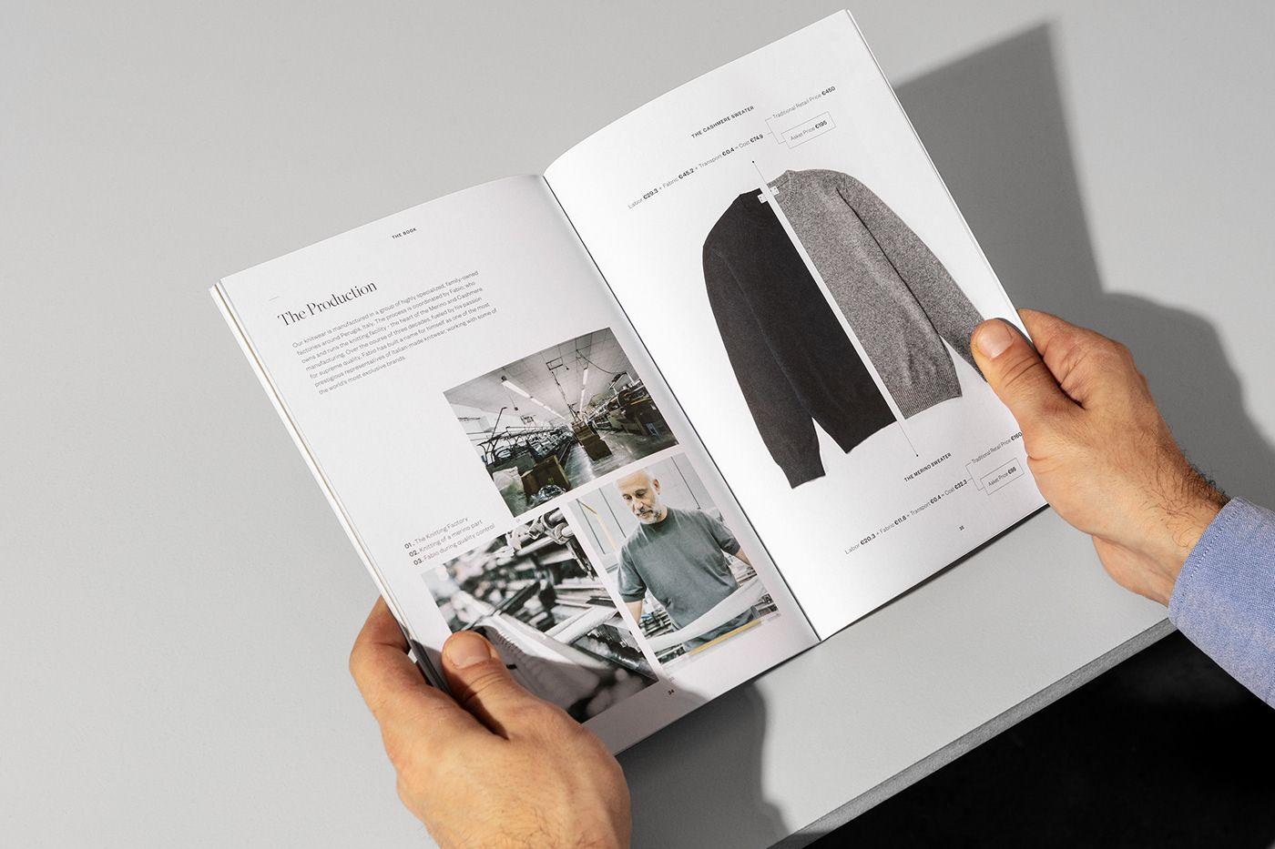 Asket The Book On Behance Freelance Graphic Design Magazine Design Creative Cloud