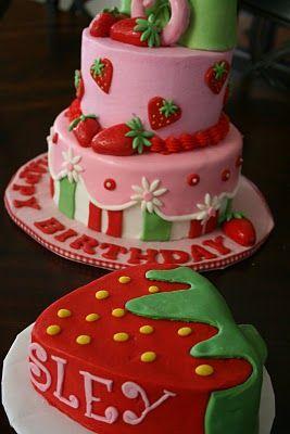 Super Strawberry Shortcake With Images Strawberry Shortcake Birthday Personalised Birthday Cards Veneteletsinfo