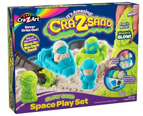 Cra-Z-Sand Glow Space Play Set $8.00 w/ Free Pick Up (Was $20) - http://www.swaggrabber.com/?p=284256
