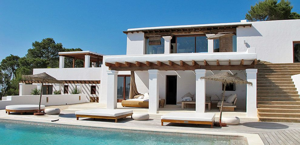 Traditional Ibiza Villa W Modern Touch Mexican Beach House New Mexico Homes Luxury Villa Rentals