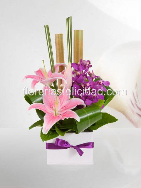 Arreglos Florales Con Orquideas Flores A Domicilio