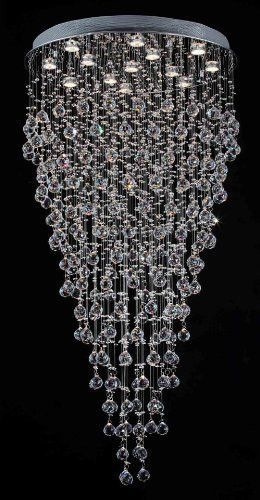 Modern Contemporary Chandelier Rain Drop Chandeliers Lighting