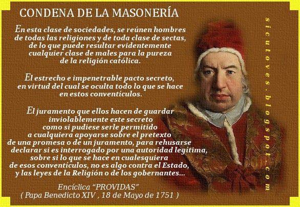Como ovejas sin Pastor: CATECISMO DE LA MASONERÍA, por el Padre Enrique de...