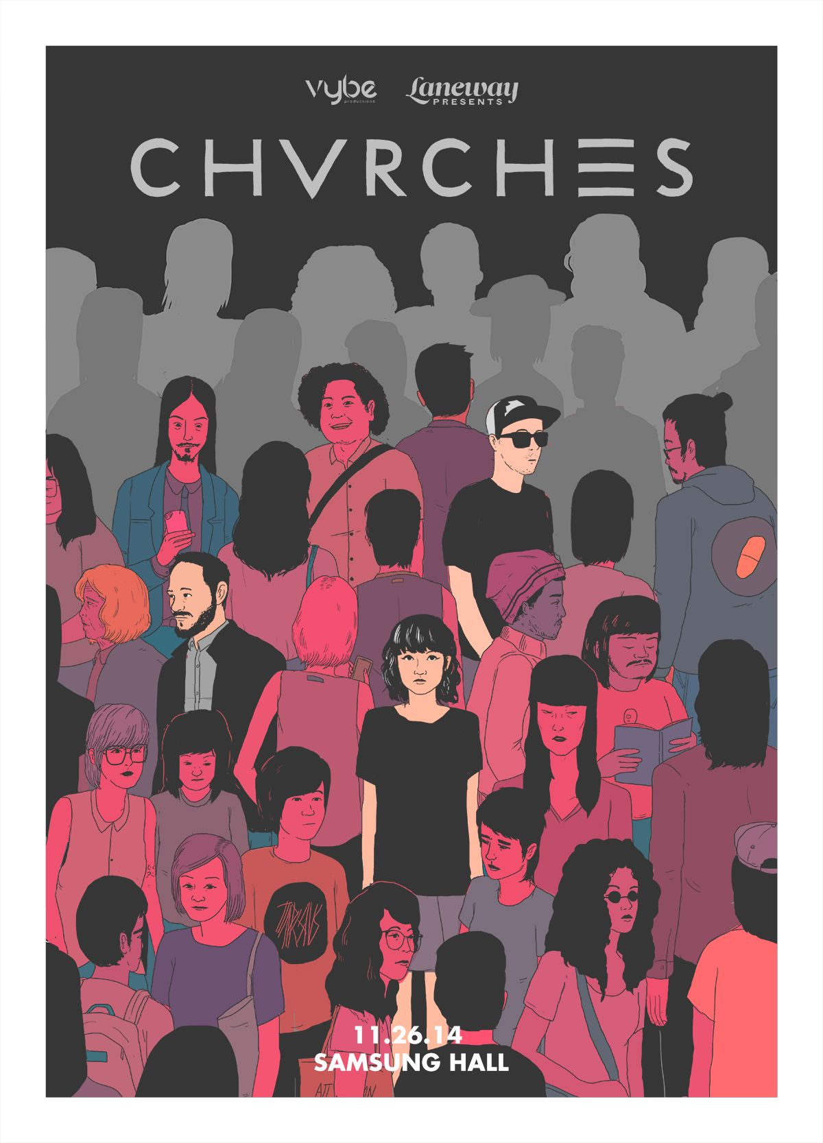 CHVRCHES Live in Stockholm iphone case