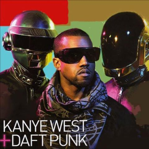 2007 2008 Best Year For Kanye West And Daft Punk Which They Made Kanye S Best Song Stronger Daft Punk Punk Kanye West