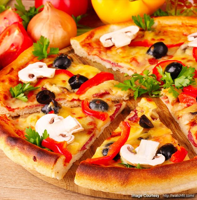 Tasty nutritious pizza by chef sanjeev kapoor for ingregients tasty nutritious pizza by chef sanjeev kapoor for ingregients method click here http healthy homemade pizzahealthy pizza recipestasty food forumfinder Images