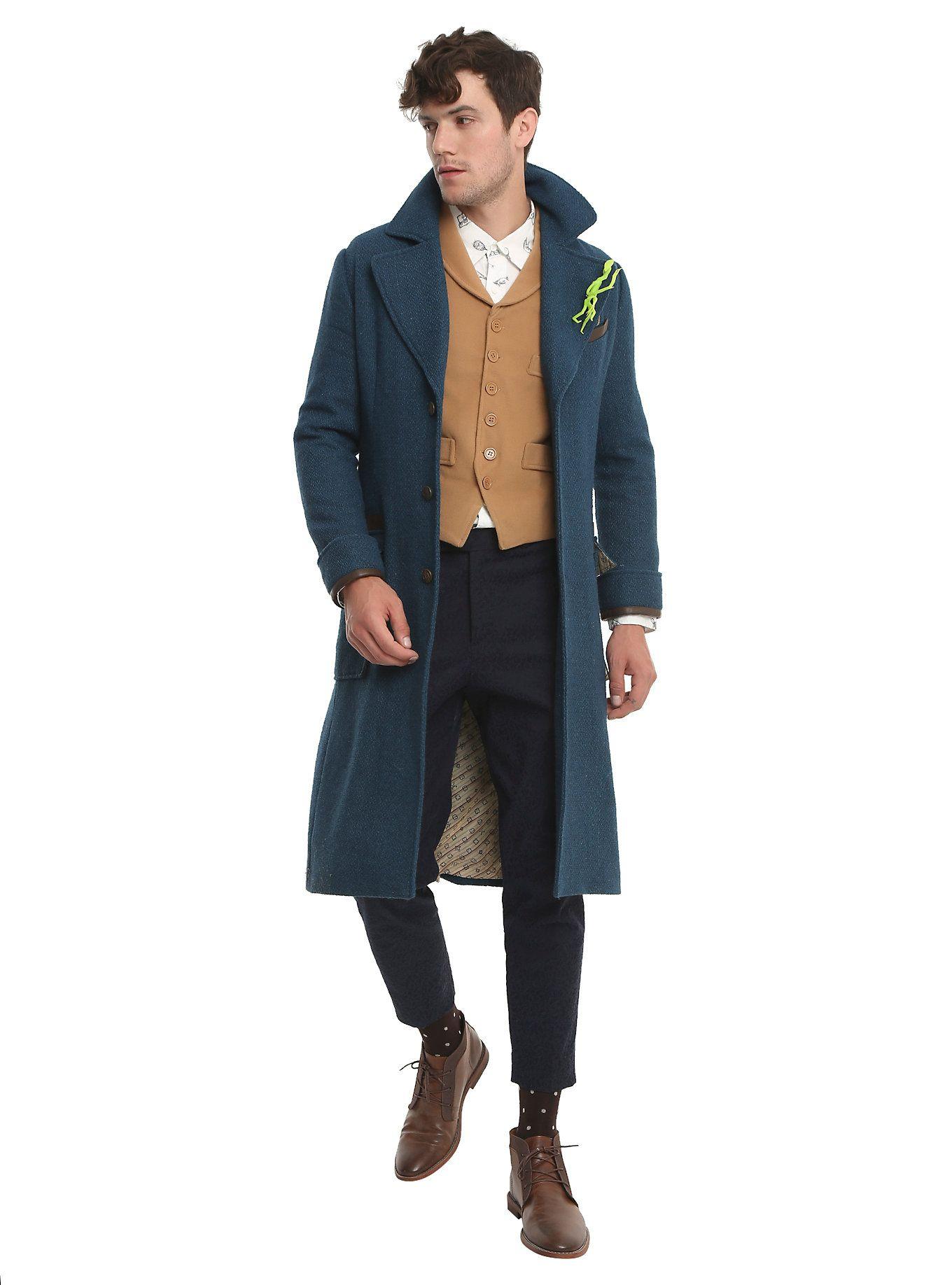 Adult Men/'s Harry Potter FANTASTIC BEASTS Newt Scamander Cosplay Costume Vest