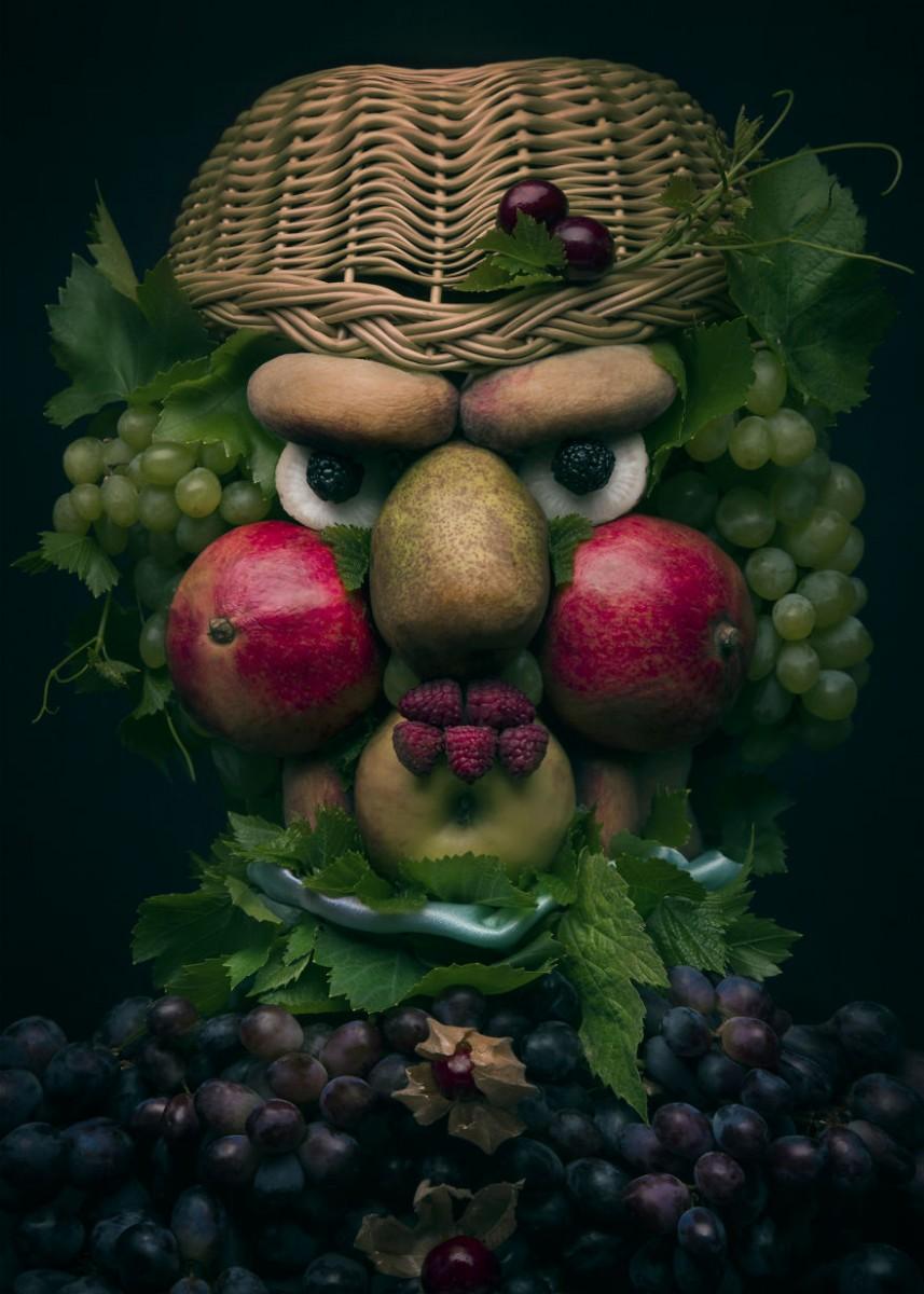 костюм картинки из фруктов лицо время съемок
