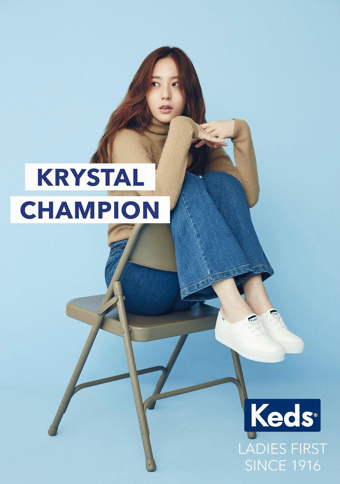Krystal naked fake doesn't matter!