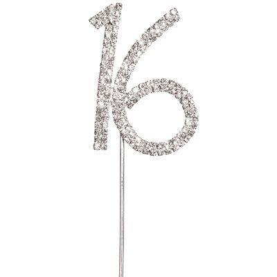 Diamante 16 Cake Topper Birthday Ideas Pinterest 16 cake