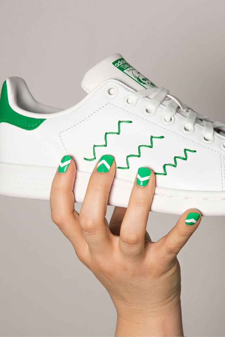 4a105f45e26 Who said your sneakers can't match your nails? The legendary court classic  shows