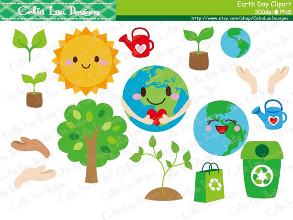 Earth Day Clipart Environment Clipart Recycle Clip Art World