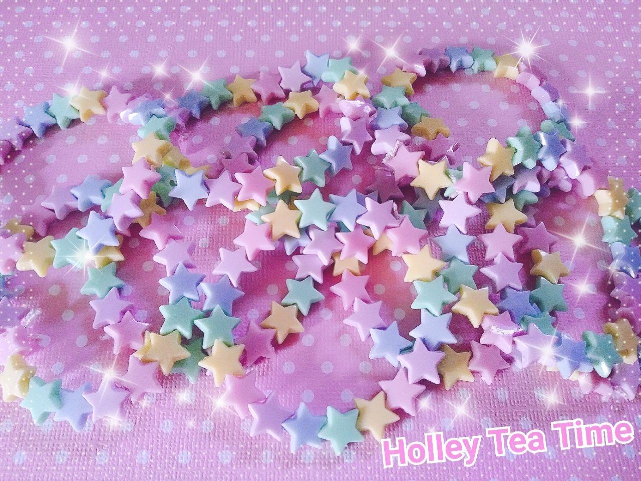 Magical J Fashion Party Kei Cute Magical Girl Pastel bracelet, Pastel Bows bracelet Fairy kei Kawaii bracelets kandi