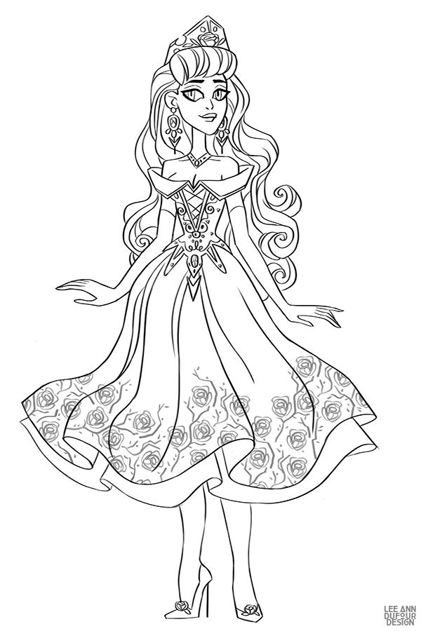 Раскраски с Дисней Принцессами | Раскраски, Иллюстрации арт