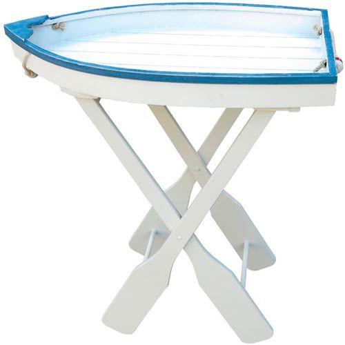 Boat Tray Table | Nautical furniture, Furniture, Beach ...