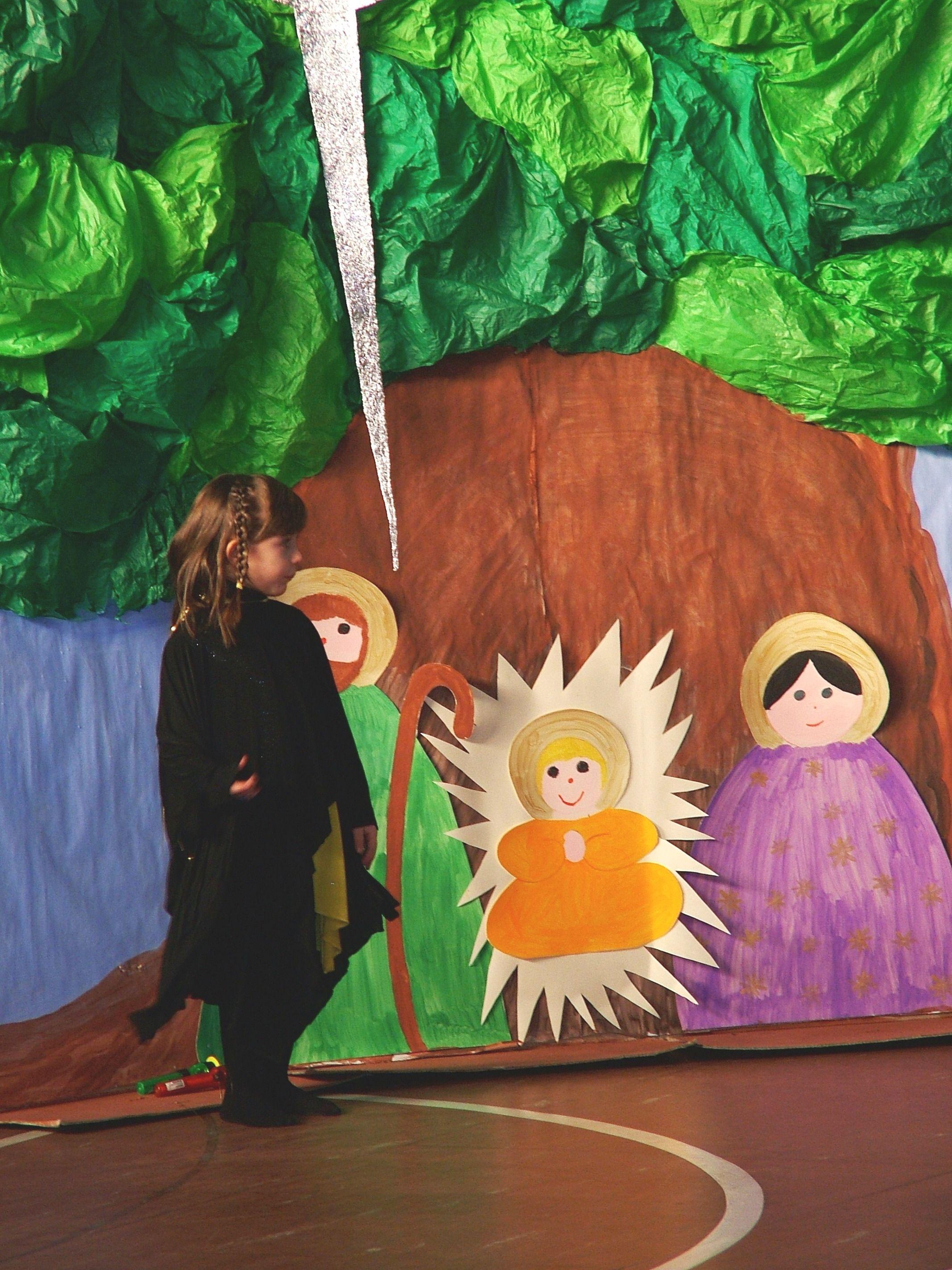 Natività Per La Recita Alla Scuola Una Dell'infanzia Natale 1wntqh40n zMUSVp