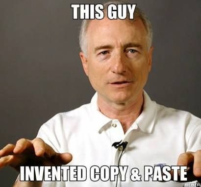 The Host Of Copy Paste Where It All Started Xd Tech Humor Smiles Happy People Best Funny Pictures