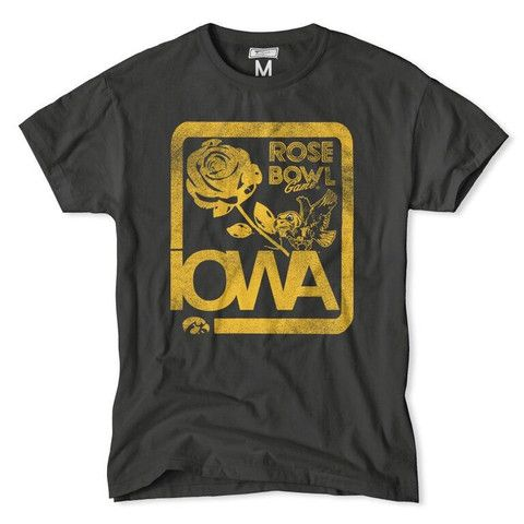 Iowa hawkeyes rose bowl t shirt style doesn 39 t end once for Iowa hawkeye t shirt