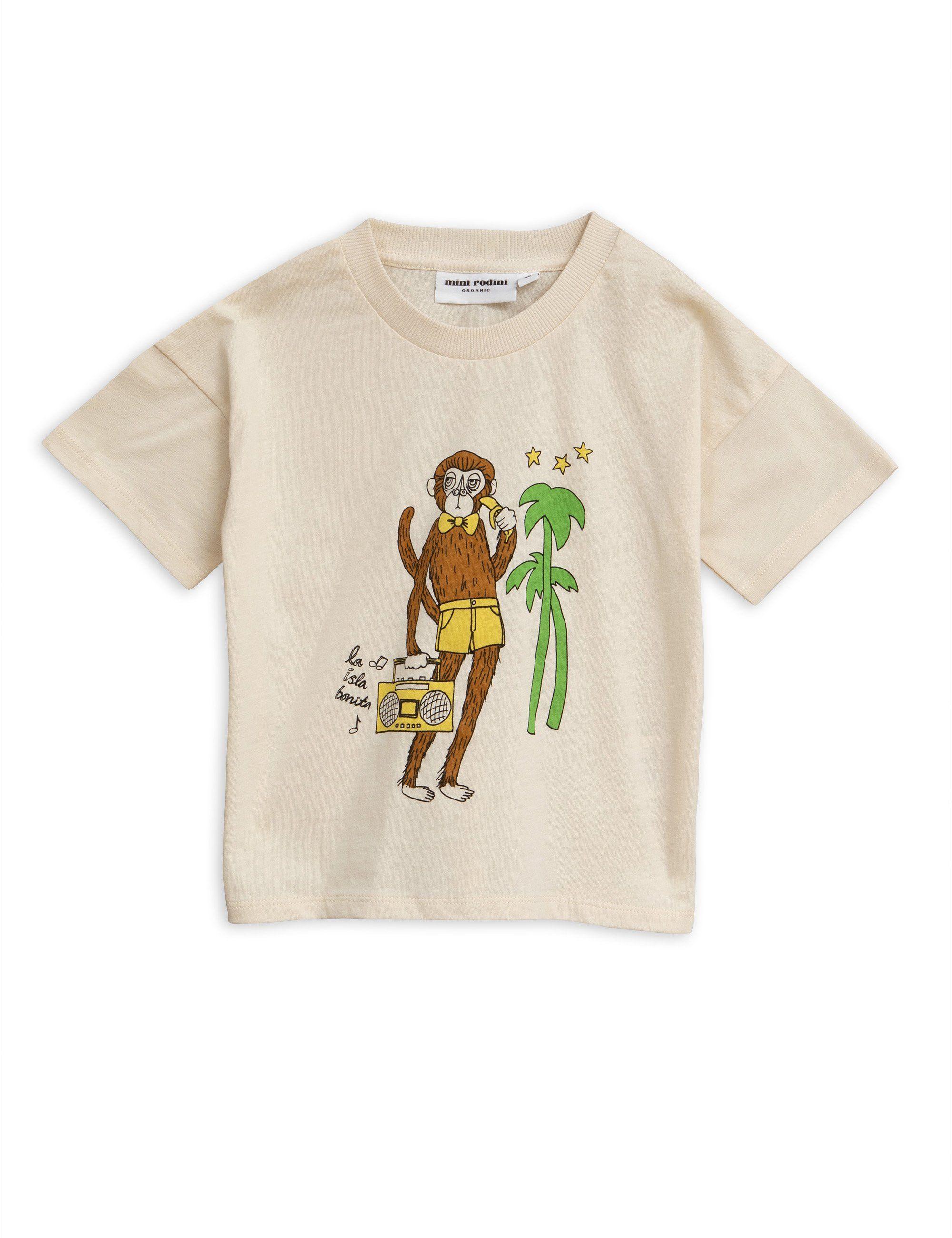 6a352e2c0 Mini Rodini Cool Monkey Sp Tee | Children's clothing | Monkey t ...