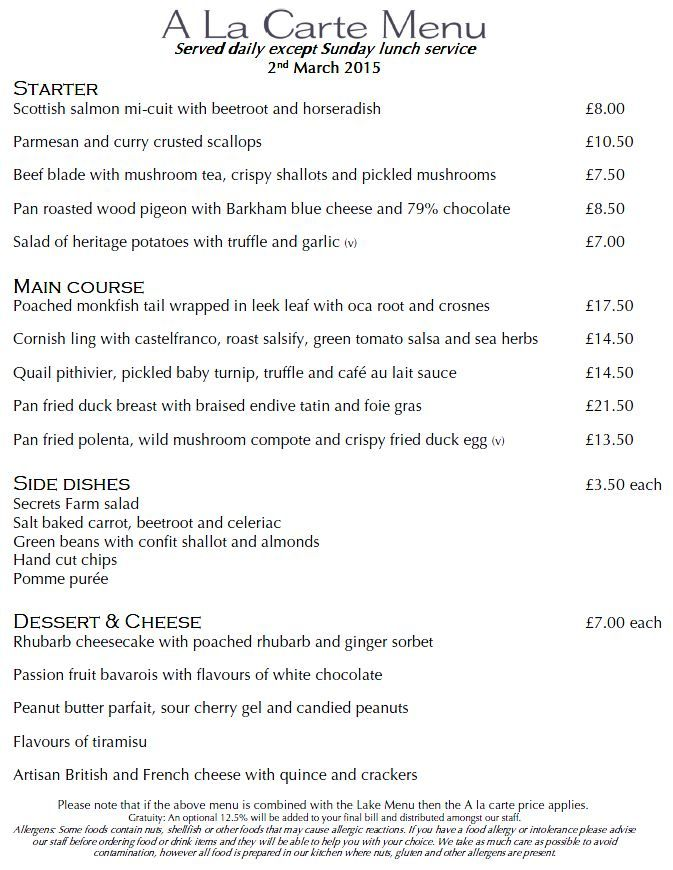 New A La Carte menu out today sdfffffffffff Pinterest Menu - dj resume