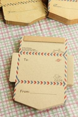 ECO Brown Kraft - DIY Craft Paper Envelope