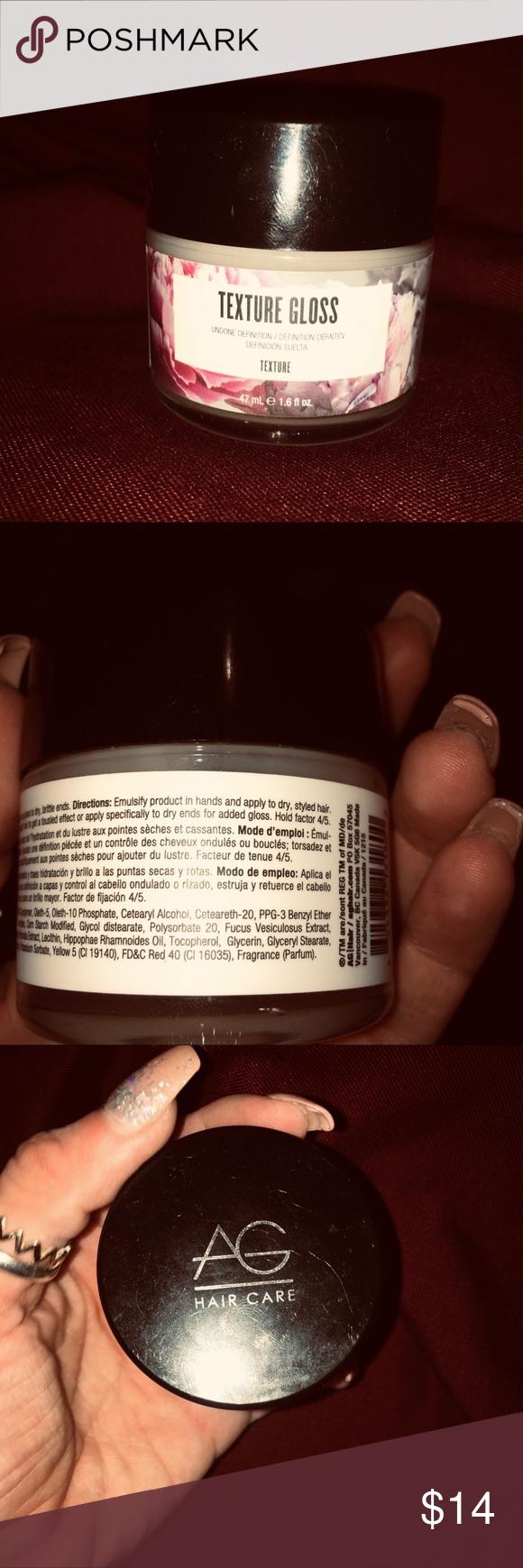 Ag hair texture gloss Texture Gloss is enhanced with AG's