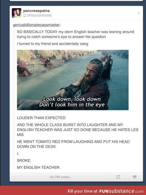 English class - FunSubstance