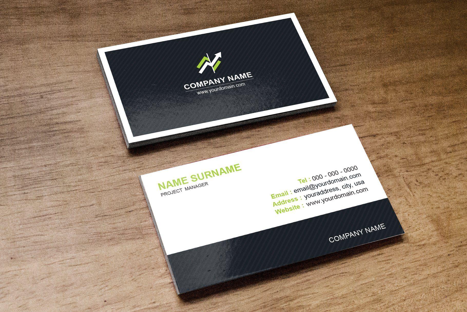 Minimal Business Card Template Minimal Business Card Printing Business Cards Business Card Template