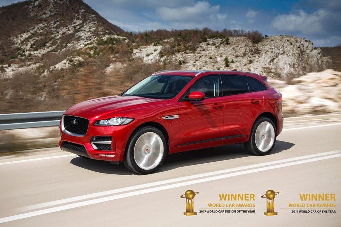 Jaguar F Pace Fue Elegido Como El Mejor Auto Del Mundo En 2017