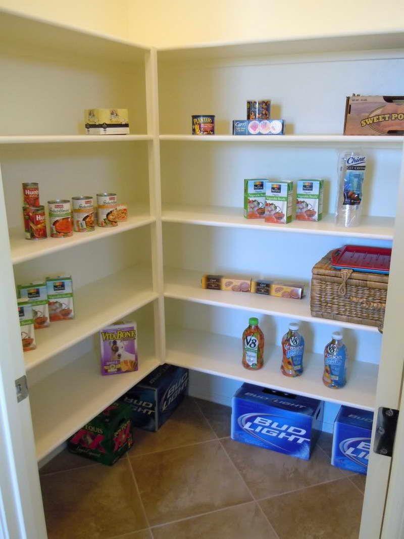Laundry Room Storage For Linen With Deeper Shelves Left Side Shorter