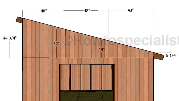 12x16 Lean To Shed Roof Plans Howtospecialist How To Build Step By Step Diy Plans Lean To Shed Shed Design Shed Plans