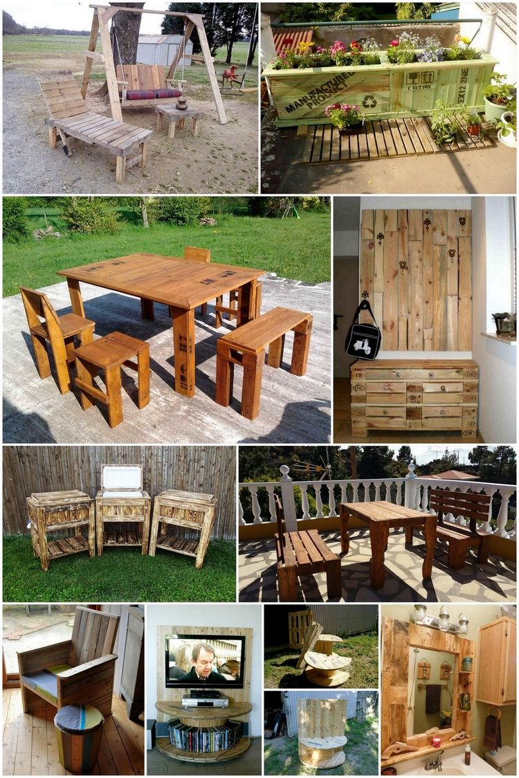 Easy Wood Pallet Ideas For The Home