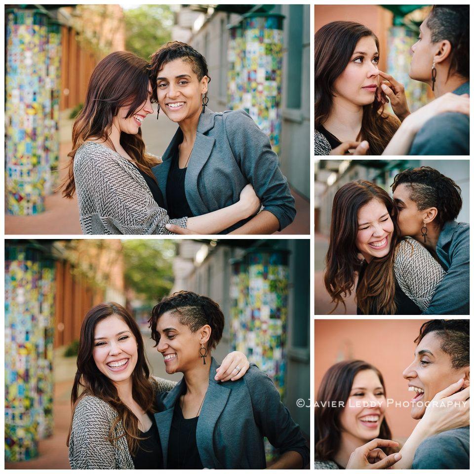 LGBT - Portraits - Engagement photos - Lesbian - Javier Leddy Photography