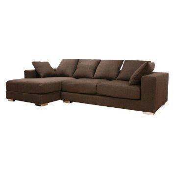 Amazoncom Wholesale Interiors Florence Twill Sectional Sofa Home