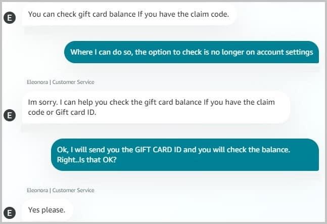Unredeem Amazon Gift Card Balance Customer Service Guide Techniquehow Gift Card Balance Amazon Gifts Gift Card