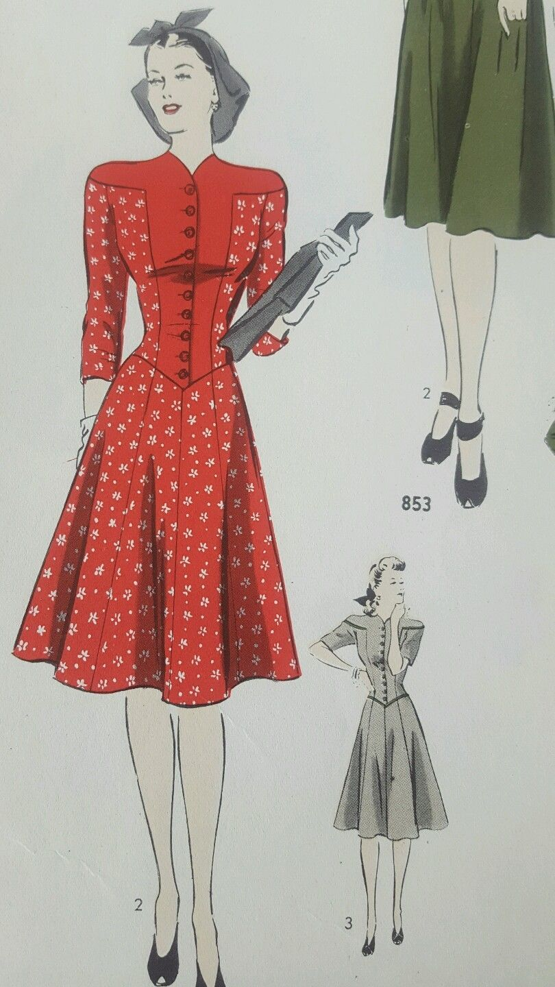 Vintage Hollywood Sewing Patterns 40s 1940s Catalog Counter Book ...
