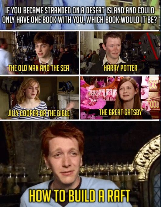 Leave It To Fred George Harry Potter Memes Harry Potter Cast Harry Potter Jokes