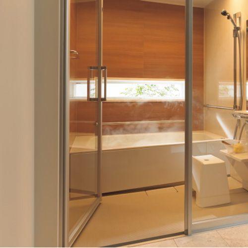 Panasonic バスルーム お風呂 ユニットバス スキットドアでシニア