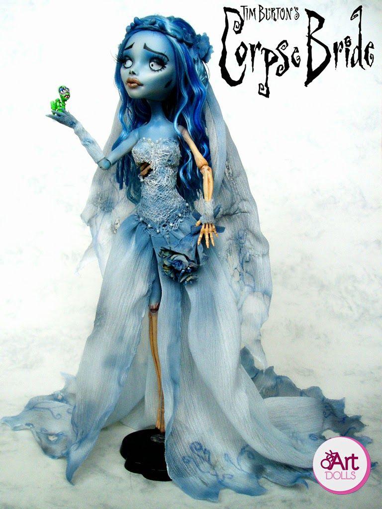 Emily: The Corpse Bride | OskArt DOLLS | Monster high repintadas ...
