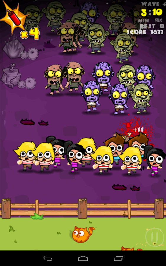 Nice Android game Zombie Games Zombie Smash . Android