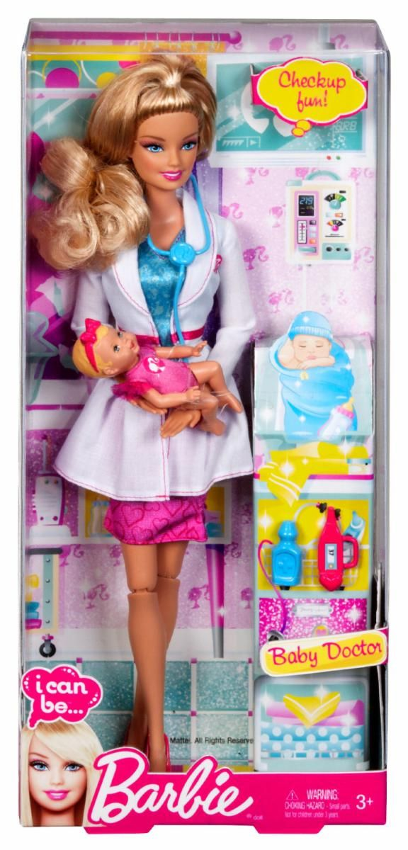 2013 Barbie I Can Be Baby Doctor Baby Doctor Barbie I Barbie