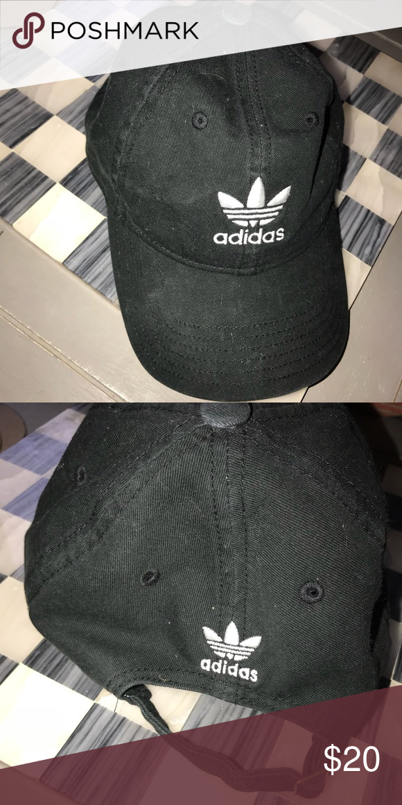 b0243d9880bc0 Adidas Originals Hat NWOT Only worn a couple of times. Unisex Adidas  Originals hat. Black with white logo. adidas Accessories Hats