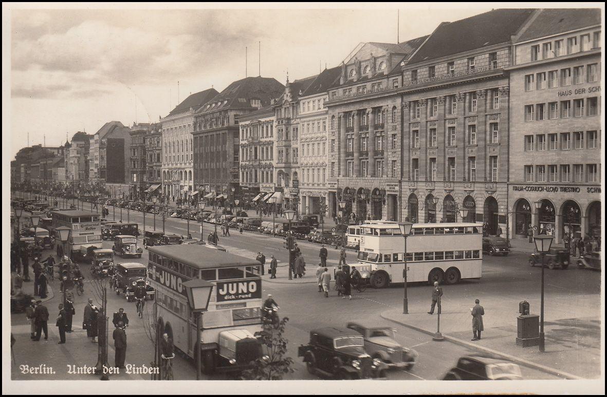 September 1939 Unter Den Linden Ecke Friedrichstrasse Palast Berlin Berlin Friedrichstrasse