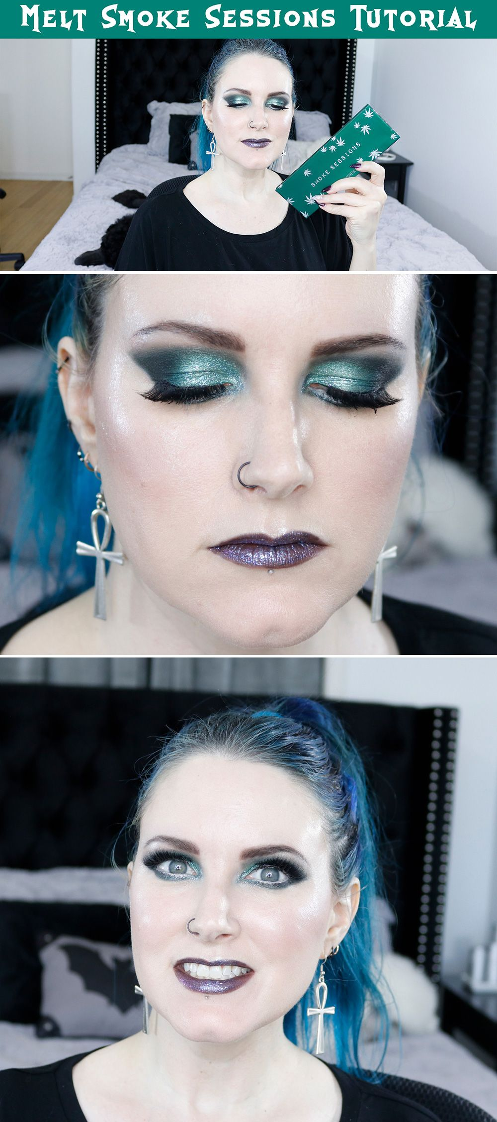 My second look in my smoke sessions video! Link is in my