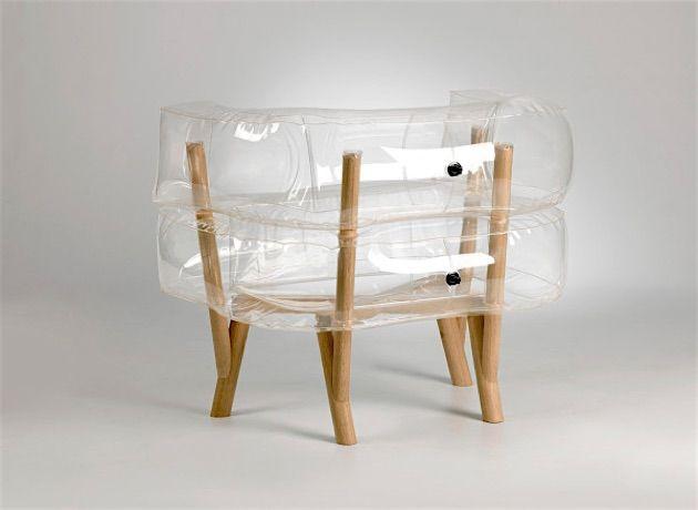 Anda, der aufblasbare Sessel KlonBlog Furniture Pinterest