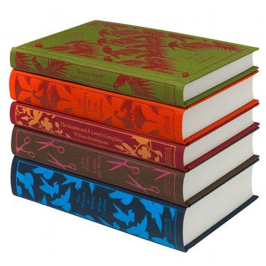 Penguin Classics New Clothe-bound Series of Books are fun gifts to give to the bookworms in your life!